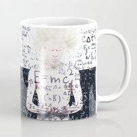 einstein Mugs featuring einstein by Taranta Babu