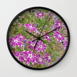 little flower - flor do campo Wall Clock