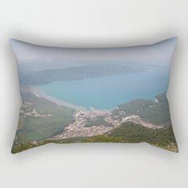 The Gulf of Gökova and Akyaka Town Rectangular Pillow