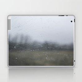 Raindrops on the Window Laptop & iPad Skin