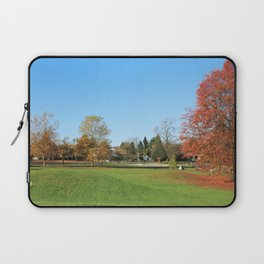 Fall Colorful  Public Park in Surrey, BC, Canada Laptop Sleeve