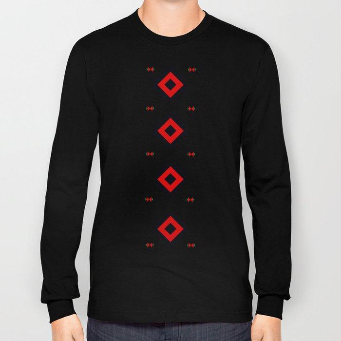 Romanian Pattern Long Sleeve T-shirt