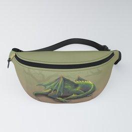 Sleeping dragon Fanny Pack