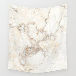 Marble Natural Stone Grey Veining Quartz Wall Tapestry