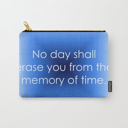 Memory of Time Carry-All Pouch