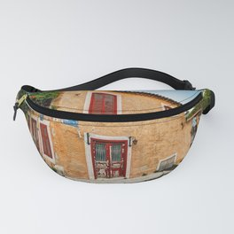 A picturesque taverna of Plaka in Athens, Greece Fanny Pack