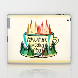 Adventure is Calling You Laptop & iPad Skin