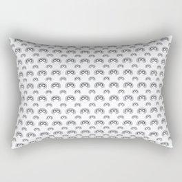 Edna Mode White Pattern nº1 Rectangular Pillow