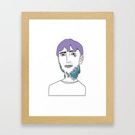 You Looked Better Online Framed Art Print