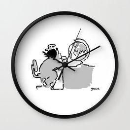 Look at the world Wall Clock