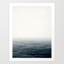Misty Sea I - Abstract Waterscape Art Print