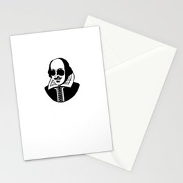 I Put The Lit In Literature Funny Shakespeare Puns Stationery Cards