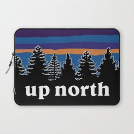 up north, blue & purple Laptop Sleeve