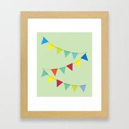 Hurray for boys! Framed Art Print