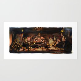 Conan the Barbarian - Crush Your Enemies Art Print