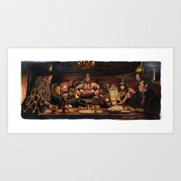Conan the Barbarian - Crush Your Enemies Art Print