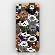 FAT CAT iPhone Skin