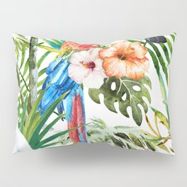 Tropical Bird Pattern 06 Pillow Sham