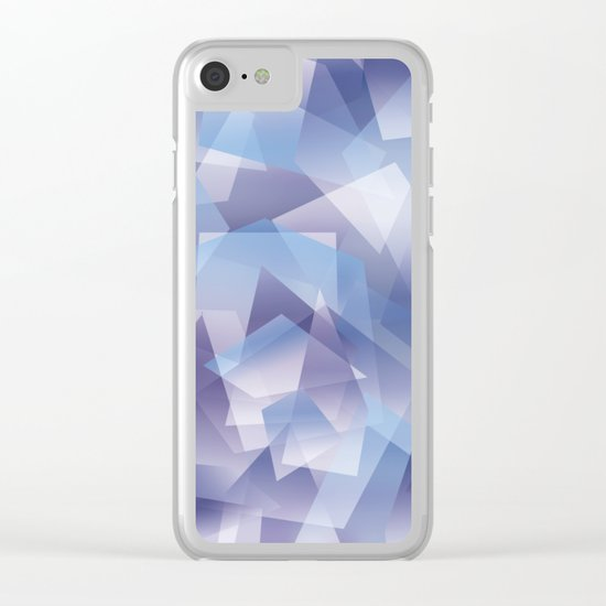 Abstract 212 Clear iPhone Case