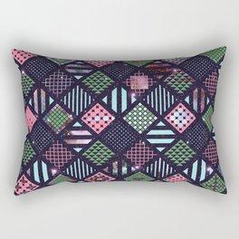Galaxy Geometric Pattern Rectangular Pillow
