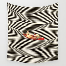 Illusionary Boat Ride 2 Wall Tapestry