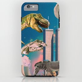 Dino Blaster iPhone Case