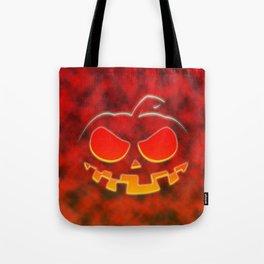 Screaming Pumpkin Tote Bag