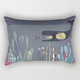 The Fishtank Rectangular Pillow