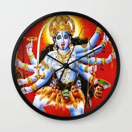 Hindu Kali 15 Wall Clock