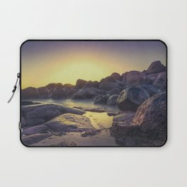 Ocean between the rocks II Laptop Sleeve
