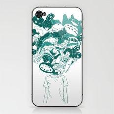Studio ghibli mash up iPhone & iPod Skin