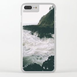 Milky. Clear iPhone Case