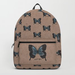 The Ulysses Butterfly - Papilio Ulysses Backpack