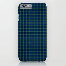 Farquharson Tartan iPhone Case