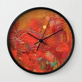Incognito Witch: Sunrise Wall Clock