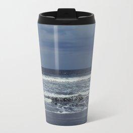 Blue sea, blue sky Travel Mug