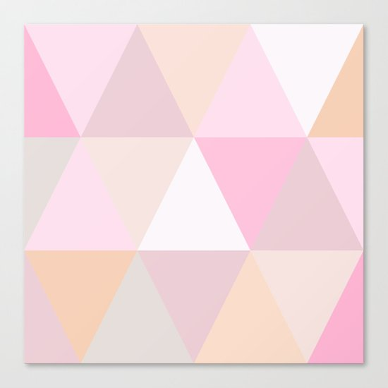CANDY TRIANGLE Canvas Print