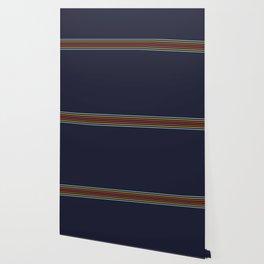 Classic Fine Retro Stripes Wallpaper