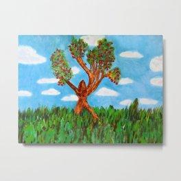 Menses 40: The Venus Tree Metal Print