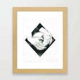 Wayward Flame Framed Art Print