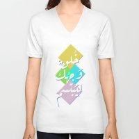 arabic V-neck T-shirts featuring Arabic by remzninetytwo