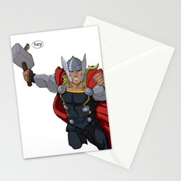 Thor and the Bird Stationery Cards