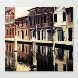 Comacchio, Italy 2 Canvas Print