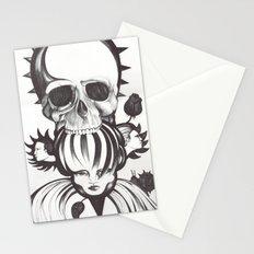 El mordisco de la calavera Stationery Cards