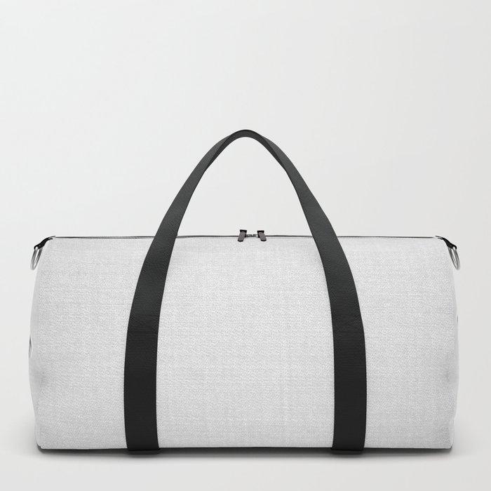 Sheep - Black & White Duffle Bag