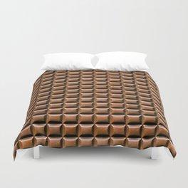 Chocolate Bar Overhead Duvet Cover