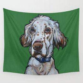 Ollie the English Setter Wall Tapestry