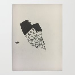Hand Study No. 1 Poster