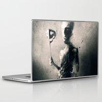 mask Laptop & iPad Skins featuring Mask by Jarek Kubicki