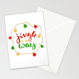 Jingle all the Way Stationery Cards